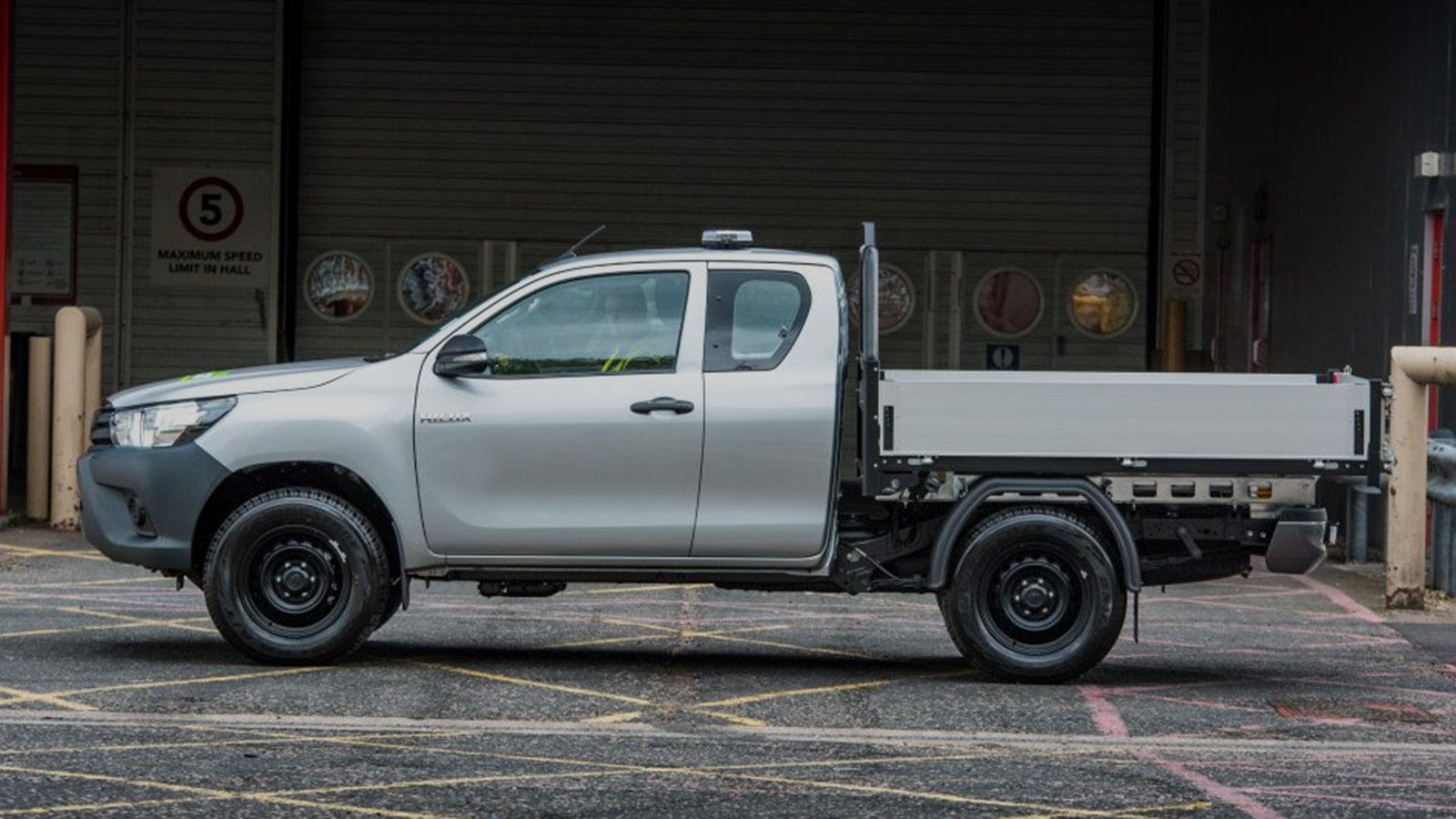 Hilux with standard conversion
